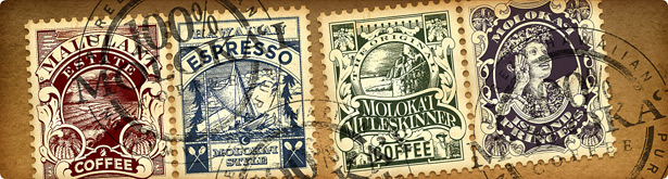 100% Molokai Coffees