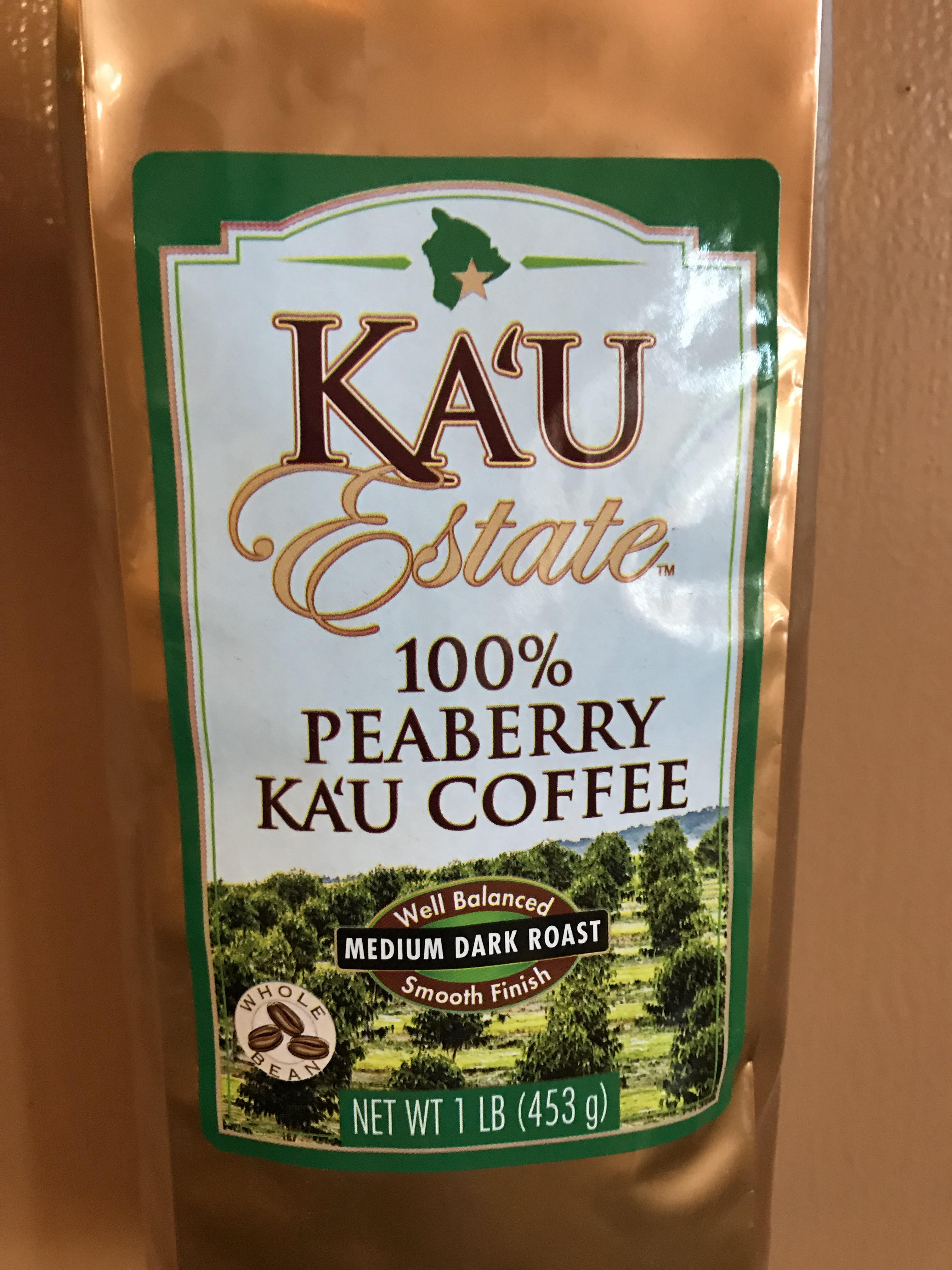Ka'u Estate 100% Peaberry