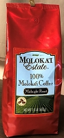 Molokai Estate 100% Molokai Coffee - Midnight Roast 1.5 lb