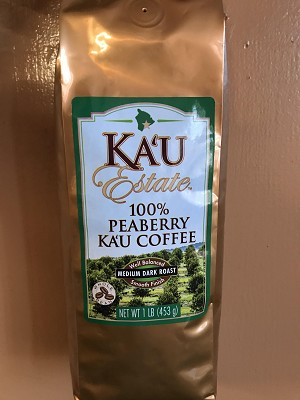Ka'u Estate 100% Peaberry 16 oz.